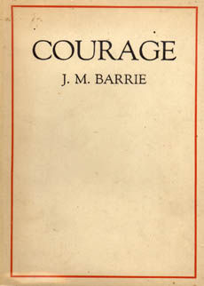 Courage by Barrie J M