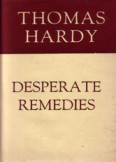 Desperate Remedies by Hardy Thomas