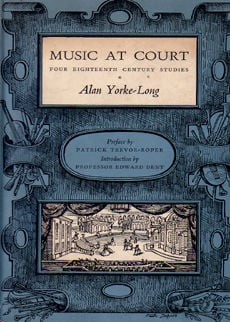 Music At Court by Yorke Long Alan