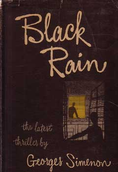 Black Rain by Simenon Georges