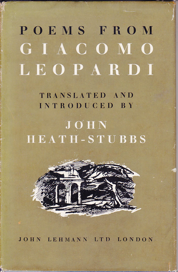 Poems from Giacomo Leopardi by Leopardi, Giacomo