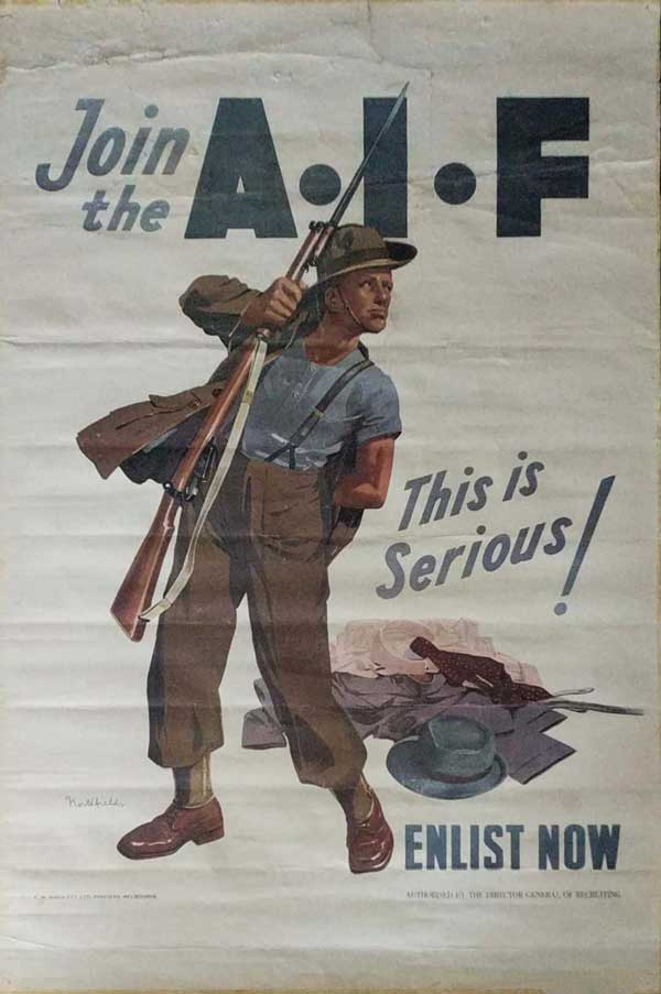 Join the AIF - This is Serious by Northfield, Robert