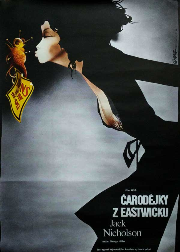 Caroldejky z Eastwicku [The Witches of Eastwick] by Miller, George