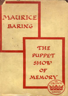 The Puppet Show Of Memory by Baring Maurice