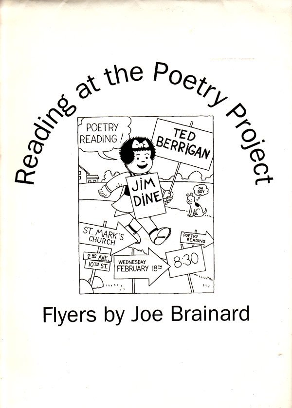 Reading at the Poetry Project by Brainard, Joe