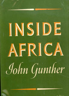 Inside Africa by Gunther John