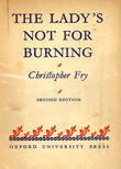 The Ladys Not For Burning by Fry   Christopher