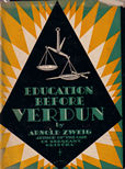 Education before Verdun by Zweig Arnold