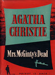 Mrs mcGintys Dead by Christie Agatha