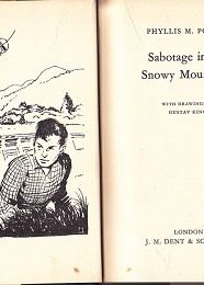 Sabotage in the Snowy Mountains by Power, Phyllis M.