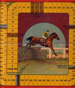 Horse Racing Game by c.1920