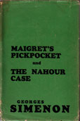 Maigrets pickpocket by Simenon Georges