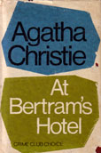 At Bertrams Hotel by Christie Agatha
