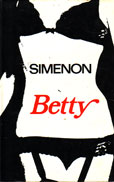 Betty by Simenon Georges