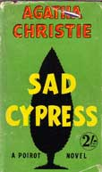 Sad Cypress by Christie Agatha