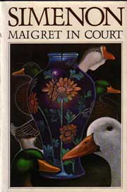 Maigret in Court by Simenon Georges