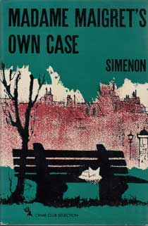 Madame Maigret's Own Case by Simenon Georges