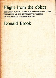 Flight from the Object by Brook, Donald