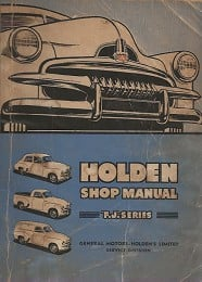 Holden 'FJ' Workshop Manual by Trist, Margaret