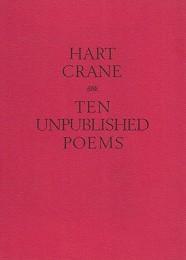 Ten Unpublished Poems by Crane, Hart