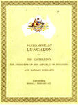 Parliamentary Luncheon by