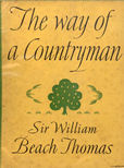 The Way Of A Countryman by Thomas Sir William Beach